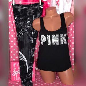 Pink Victorias Secret Ultimate legging set